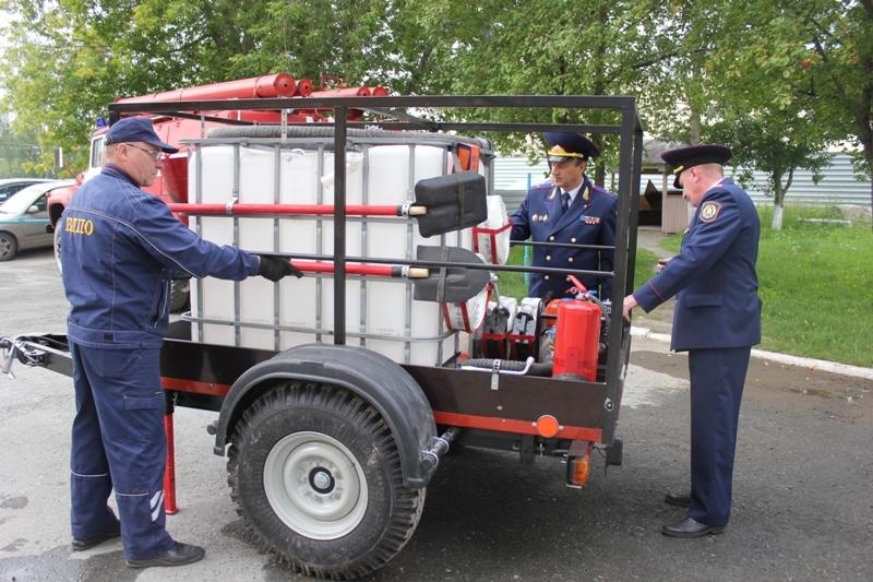 пожарный модуль спас фото его лесорубов