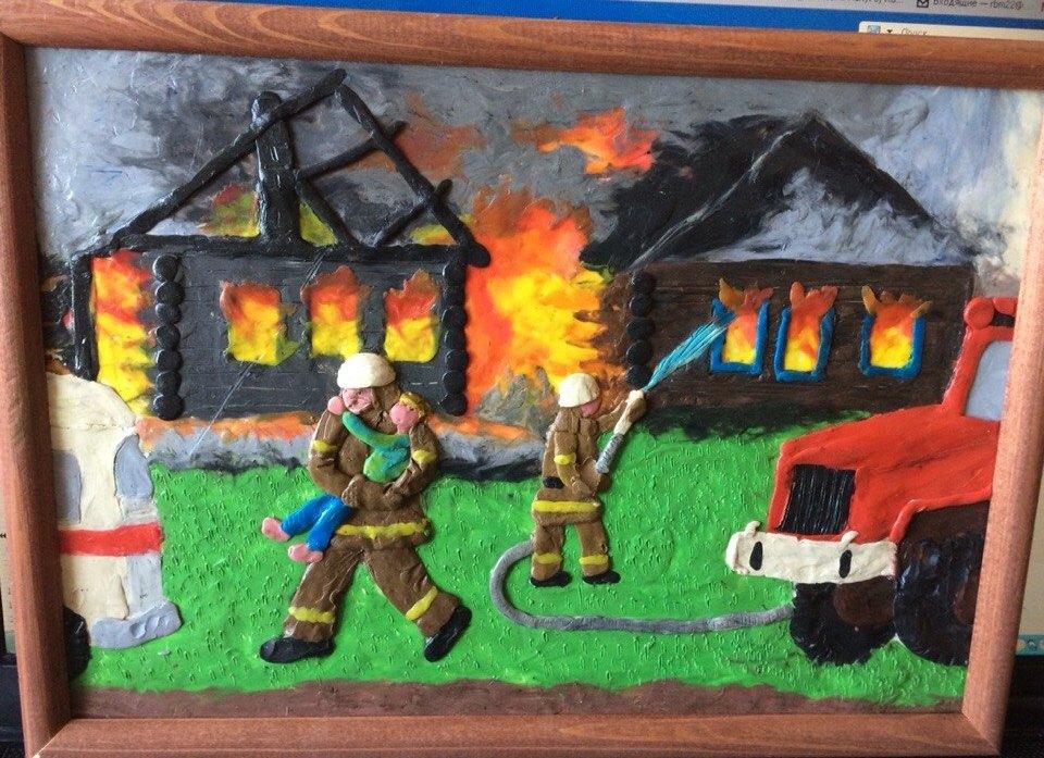 Поделки в садик на тему пожара
