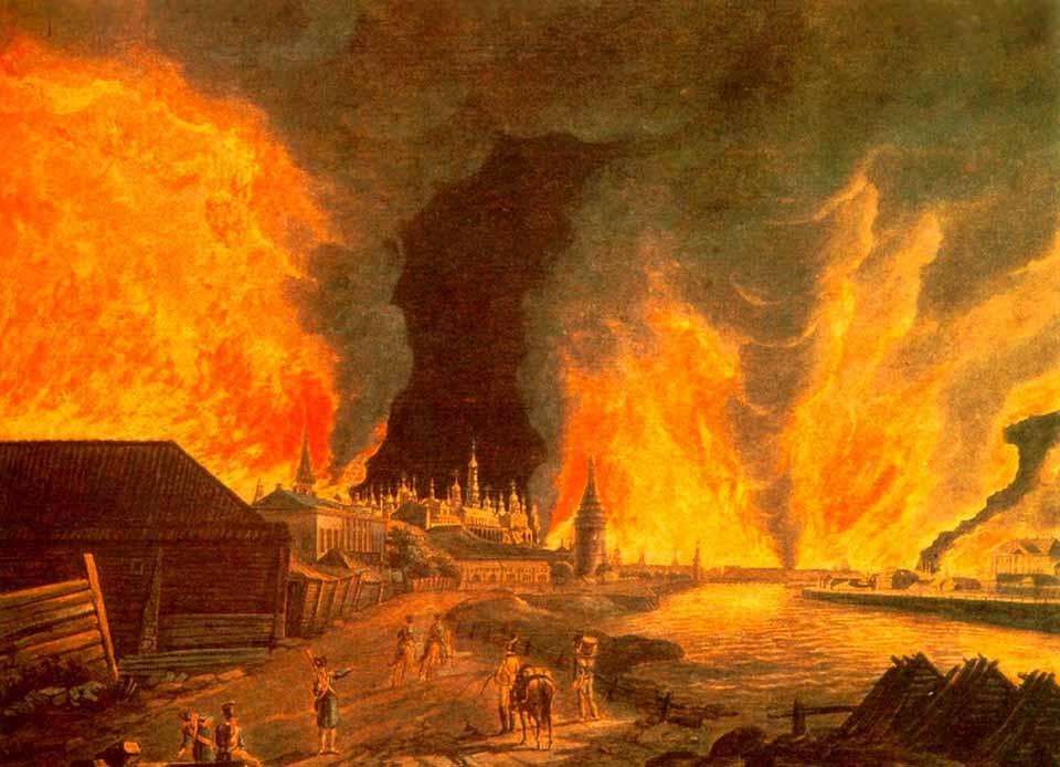 Пожары - национальное зло