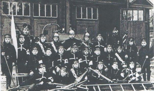 Детские пожарные «потешные команды» Российской империи.